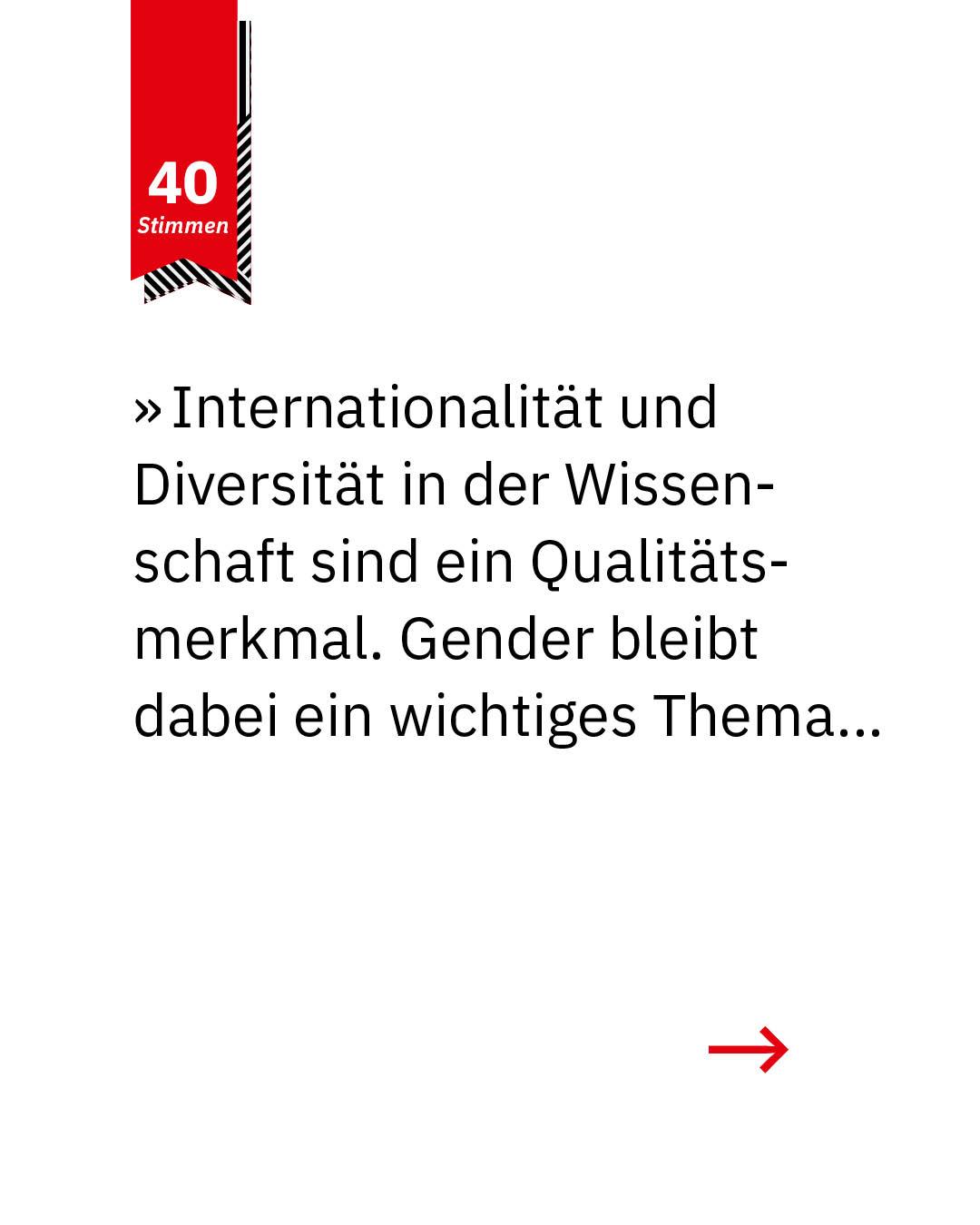 Statement 40 Jahre Gleichberechtigung, Prof. Dr. Antje Boetius, Direktorin Alfred-Wegener-Institut