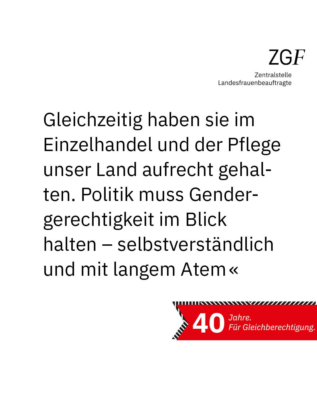 Statement 40 Jahre Gleichberechtigung, Andreas Bovenschulte, Bürgermeister Bremen