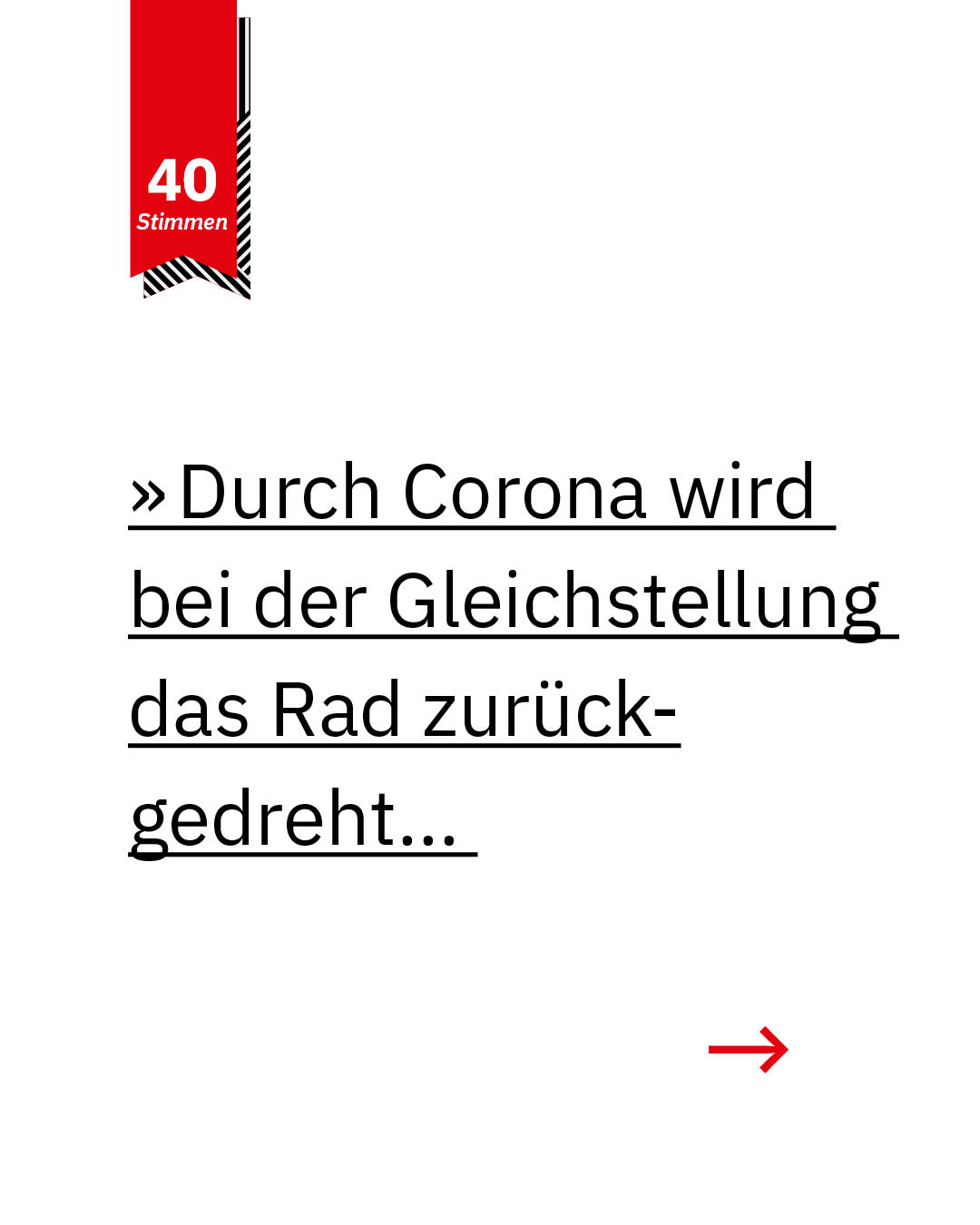 Statement 40 Jahre Gleichberechtigung, Lencke Wischhusen, Unternehmerin, Vorsitzende FDP-Fraktion Bremische Bürgerschaft