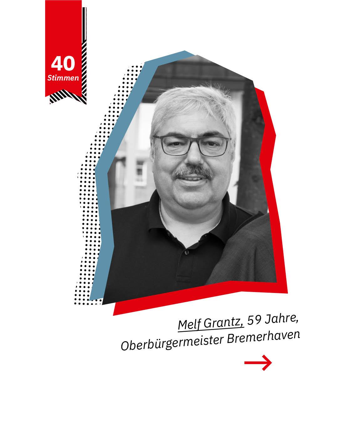 Statement 40 Jahre Gleichberechtigung, Melf Grantz, Oberbürgermeister Bremerhaven