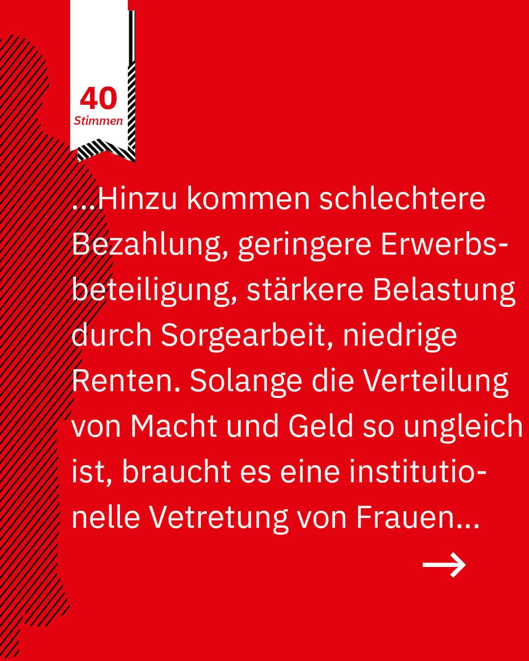 Statement 40 Jahre Gleichberechtigung, Peter Kruse, Präsident Arbeitnehmerkammer Bremen