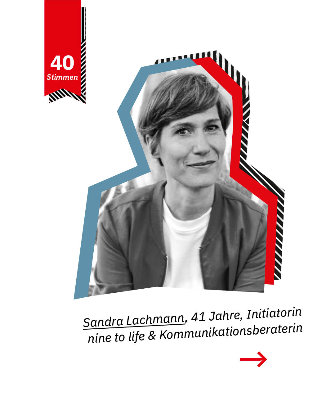Sandra Lachmann, Initiatorin nine to life, Kommunikationsberaterin